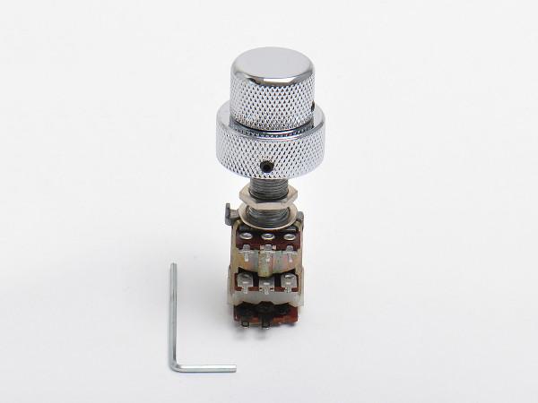 göldo Doppelpoti mit Schalter / 2x 50K lin