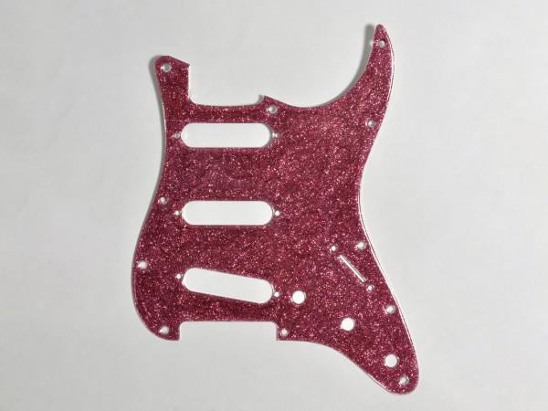 "göldo ""Deluxe"" ST-Shape Pickguard / SSS / Pink Aluminium"