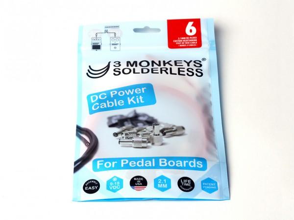 3 Monkeys Solderless Stromkabel-Kit