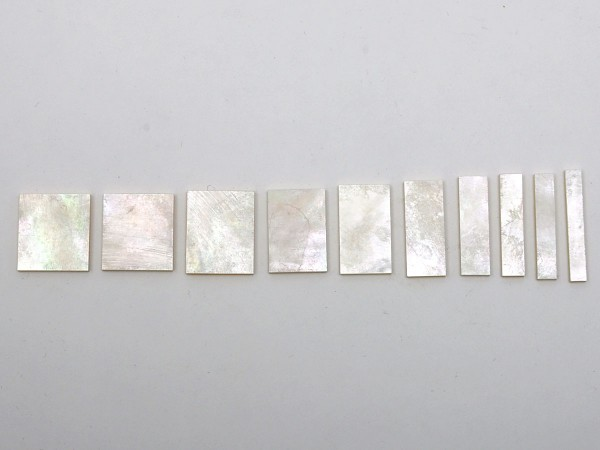 göldo Griffbretteinlagen / Block