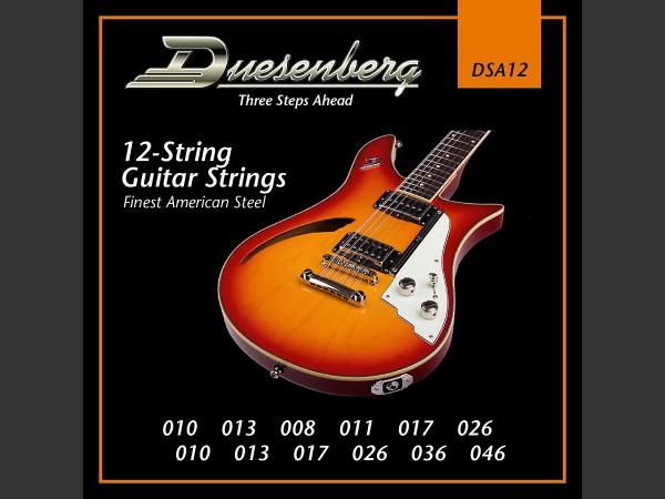 Duesenberg 12-String Saiten / 010