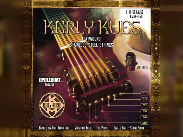 Kerly Kues Electric Guitar Flatwound