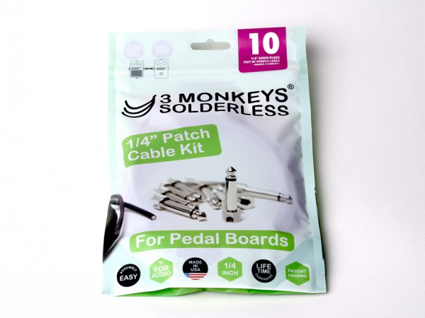 3 Monkeys Solderless Patchkabel-Kit