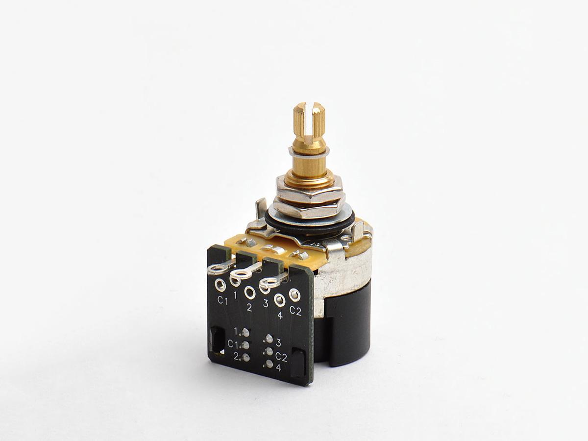 Göldo E250P Push//Pull Mini Poti 250K log