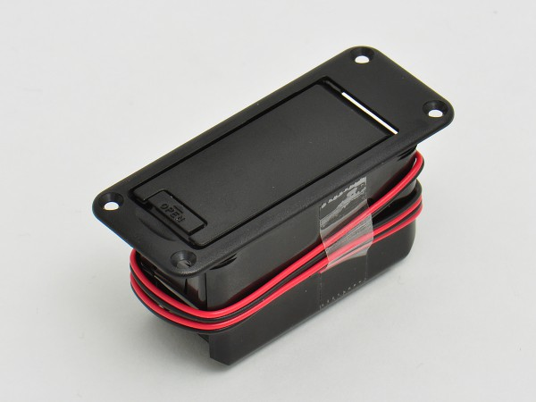 Snap In battery box for 9 Volt