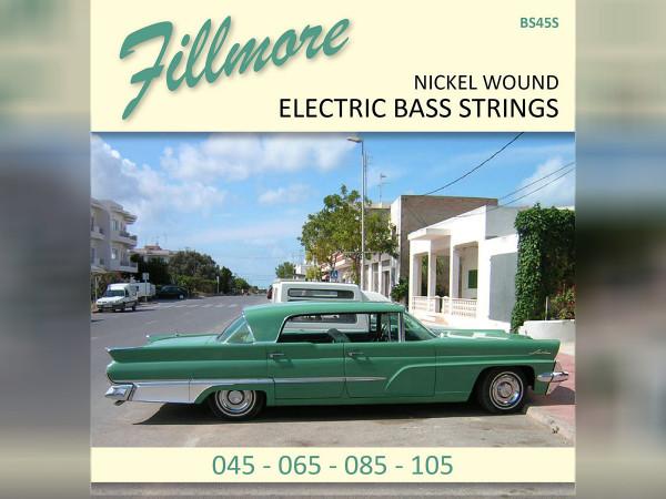 Fillmore Bass Strings / 4-String / Medium