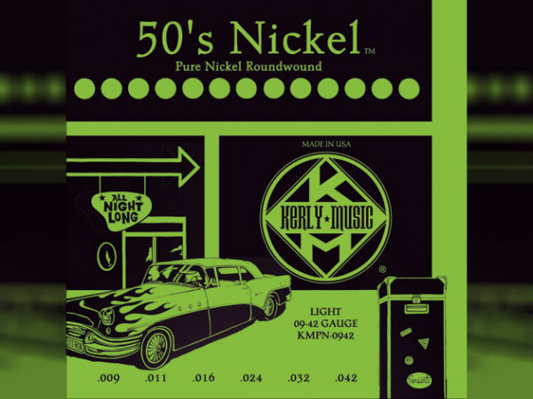 Kerly 50´s Electric Guitar Strings (Pure Nickel)