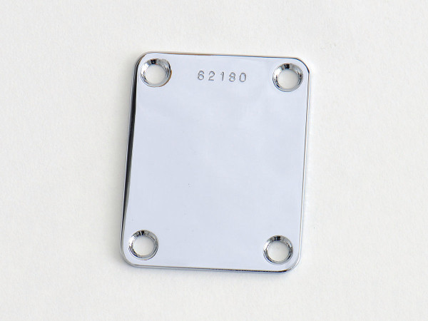 "göldo ""Vintage"" F-Type Neck Plate / Serial-Number"